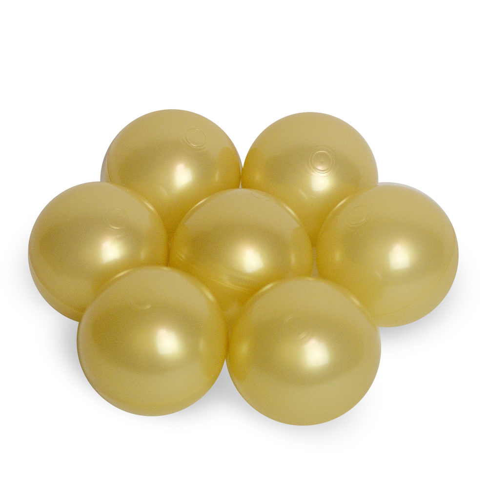 Color of the ball - golden