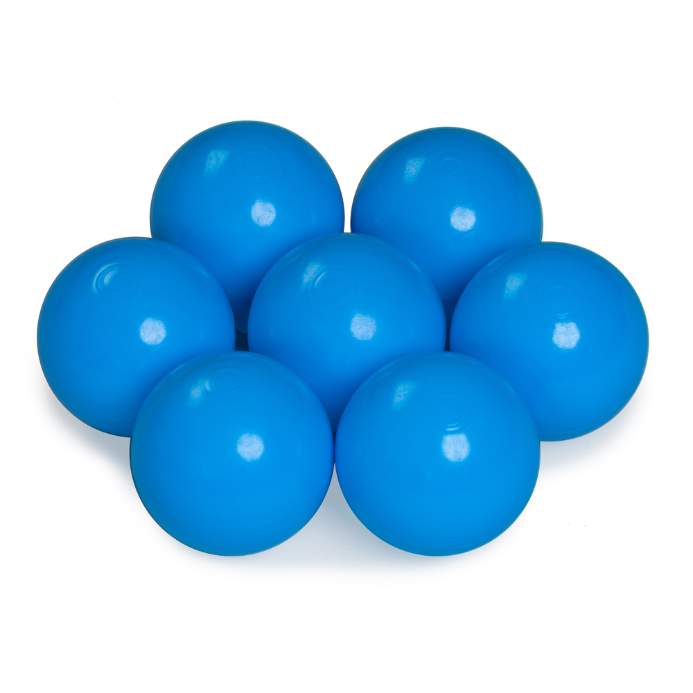 Color of the balls: light blue