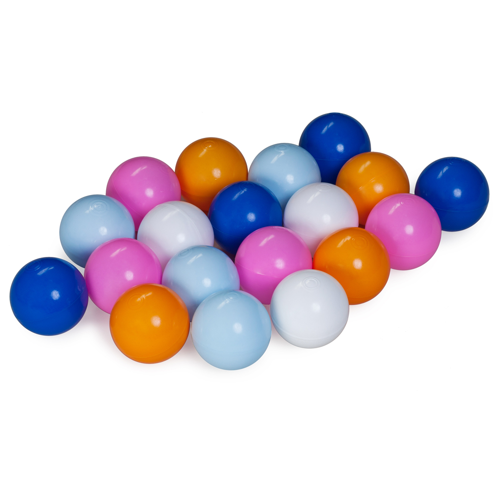Balls for the dry pool, mix of 5th colors
