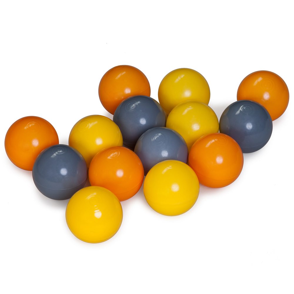 Balls for the dry pool, mix of 3th colors