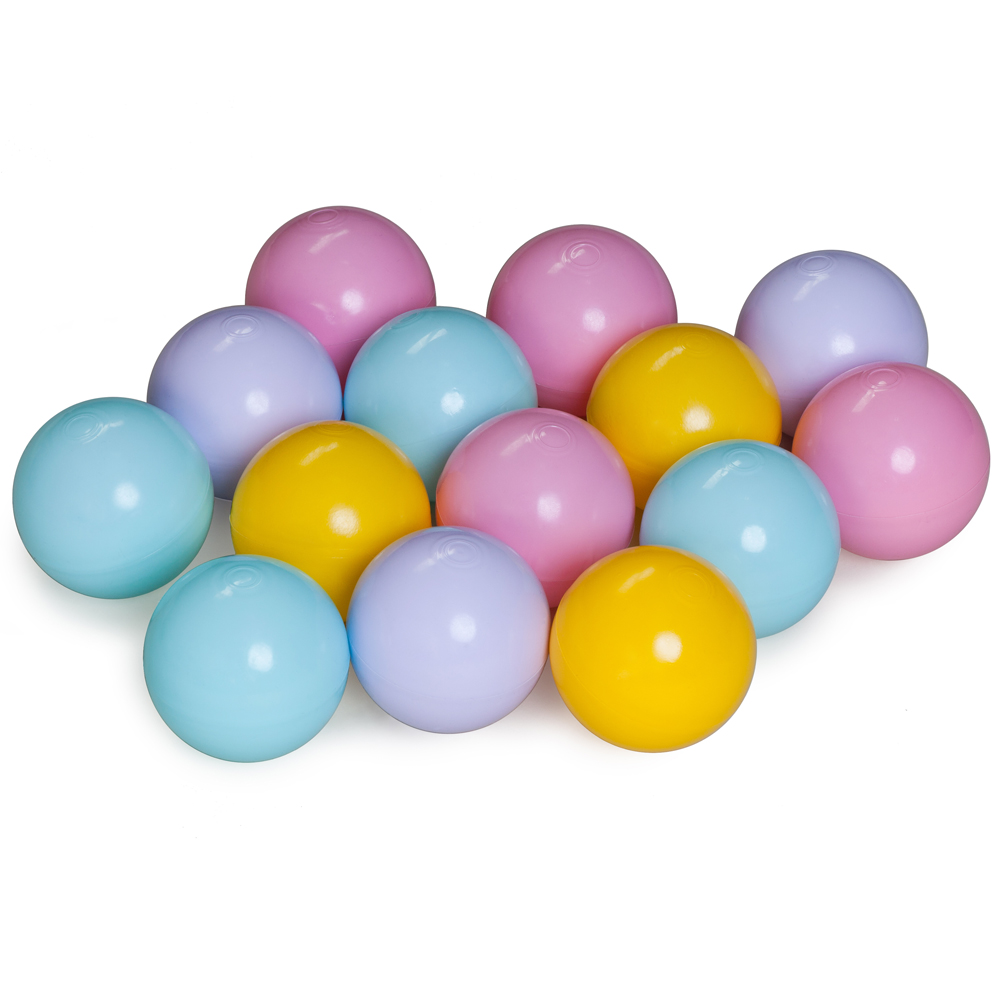 Balls for the dry pool, mix of 4th colors