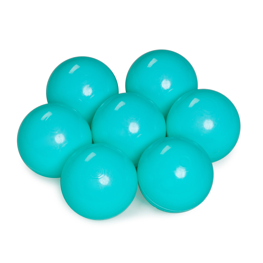 Color of the balls: mint