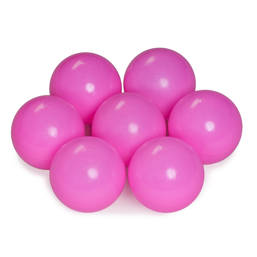 Color of the balls: pink