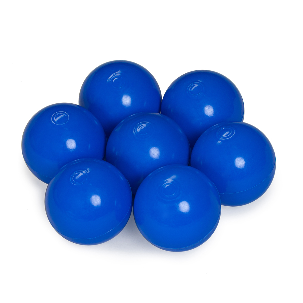 Color of the balls: dark blue