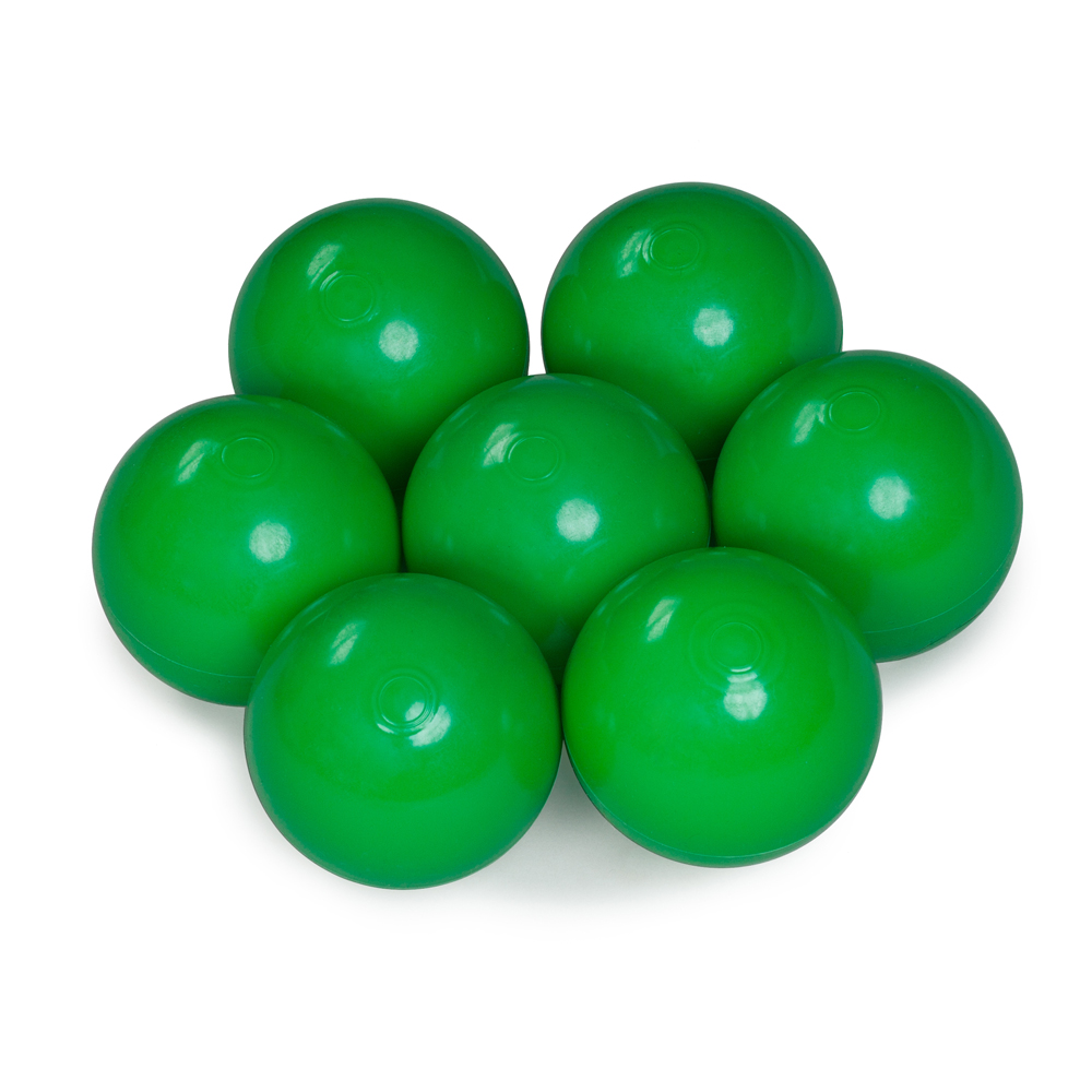 Color of the balls: green