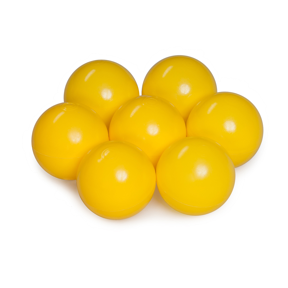 Color of the balls: yellow